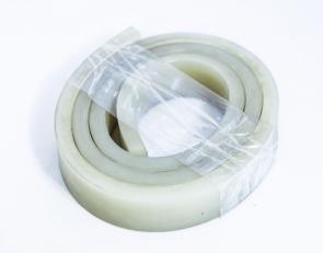 Резина силиконовая 10х10