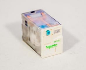 Реле 4С, 24VDC, 5A, код RXM4AB1BD (RXL4A06B1BDTQ)