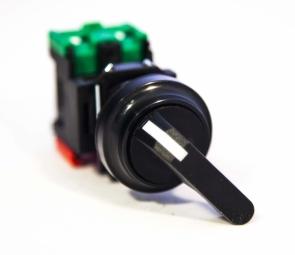 Выключатель 2х позиц. JLSS -22 A 1A 1B BLACK