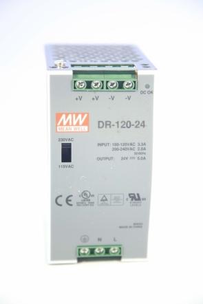 Источник питания DR-120-24 (120W 24V)